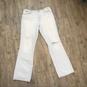 Tommy Hilfiger Distressed Stone Wash Jeans